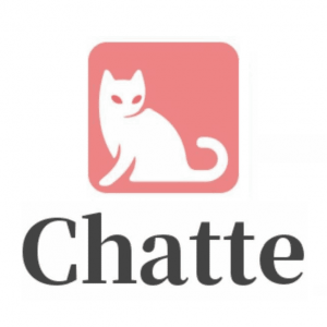 Red Chatte cat logo