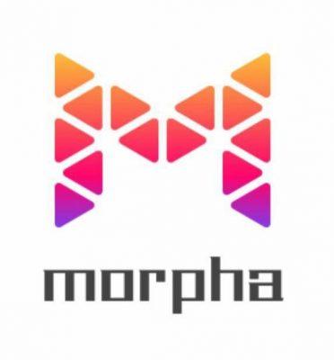 "Colorful Morpha ""M"" logo"